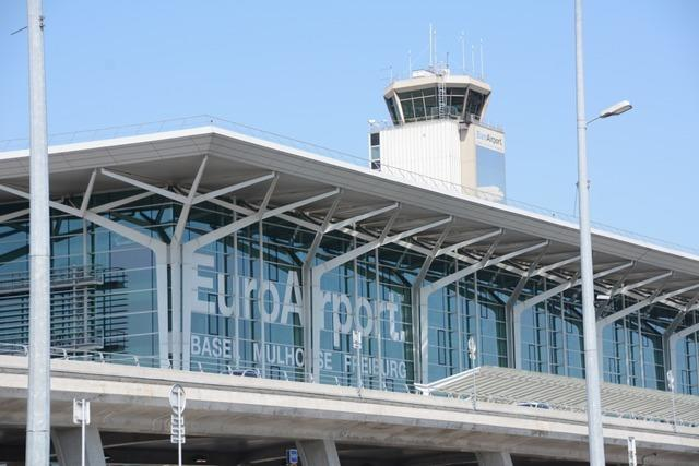 50 bis 80 Prozent weniger Fluggäste am Euroairport Basel