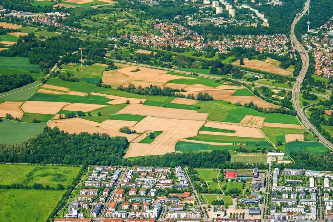 Ab 2025 wird im Freiburger Westen ein ...ue Finanzierungsübersicht beschlossen.    Foto: Nils Theurer