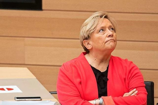 Kultusministerin Eisenmann: