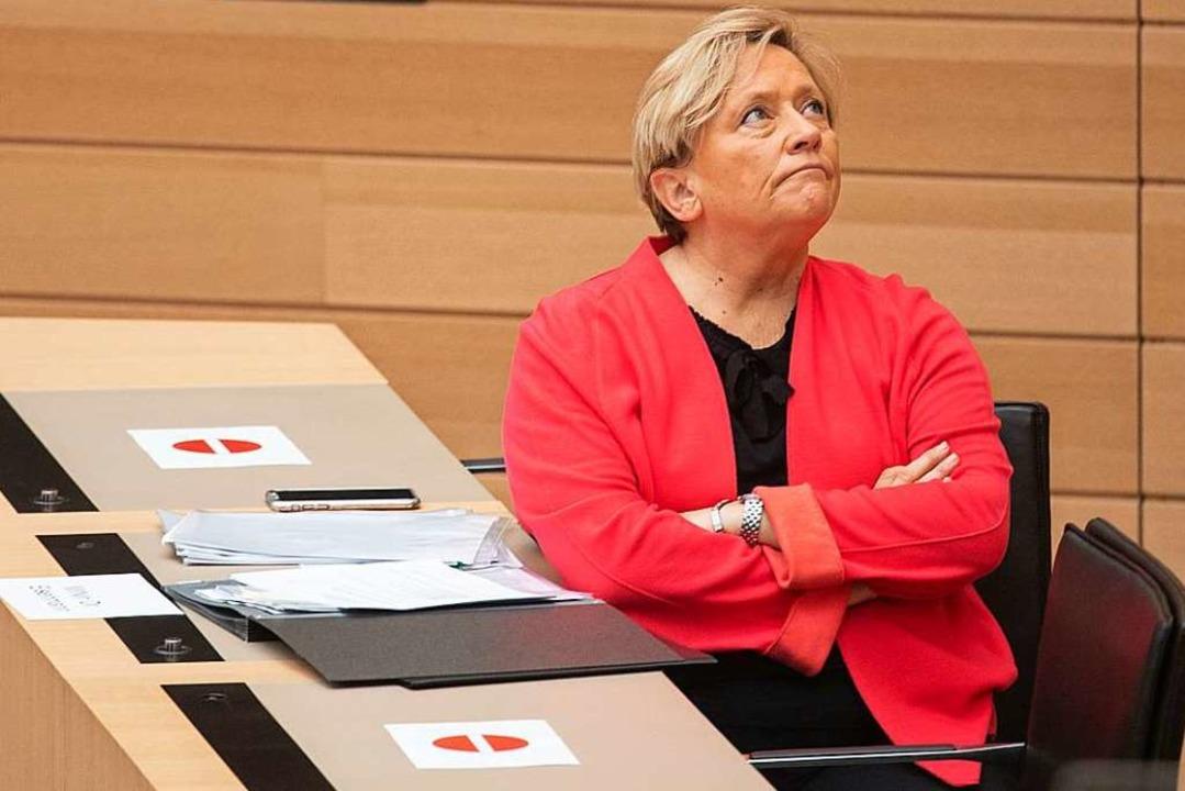Susanne Eisenmann wird bei der Landtagswahl 2021 Spitzenkandidatin der CDU sein.  | Foto: Marijan Murat (dpa)