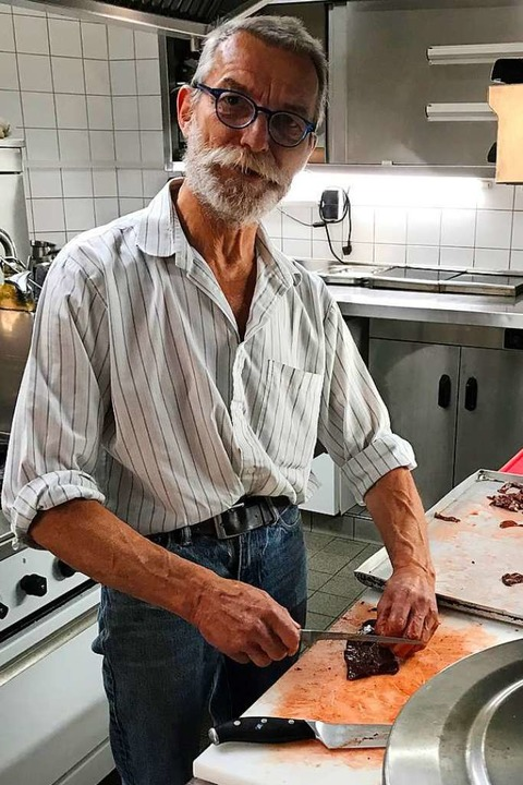Der Wirt des Rebstocks in Ebringen, Ha...nd hinterlässt eine Lücke in Ebringen.  | Foto: Michael Dörfler