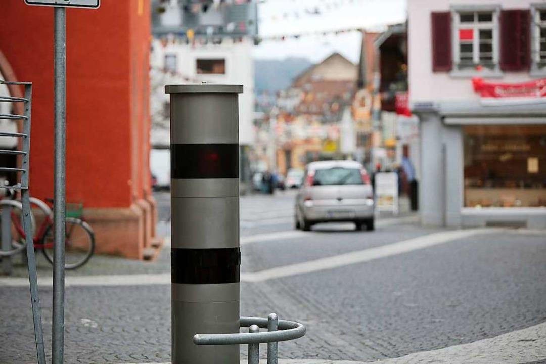 Auch Radfahrer müssen hier langsam machen.  | Foto: Christoph Breithaupt