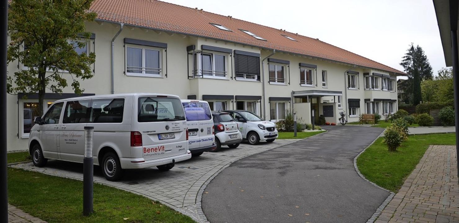 Das Haus Rheinaue der Benevit-Gruppe i...Jahre nach der Einweihung noch immer.   | Foto: Roland Vitt