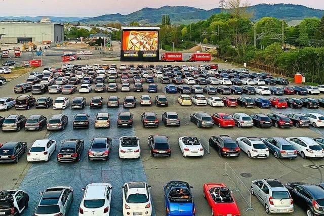 Rund 7000 Kinogäste in 2500 Autos tragen zum Erfolg bei