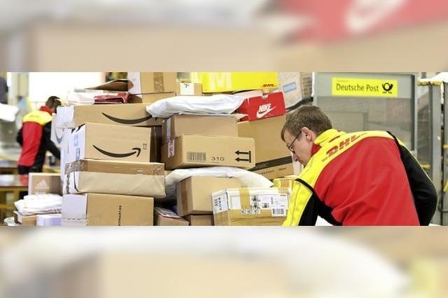 Weiter viel Arbeit für die Paket-Zusteller
