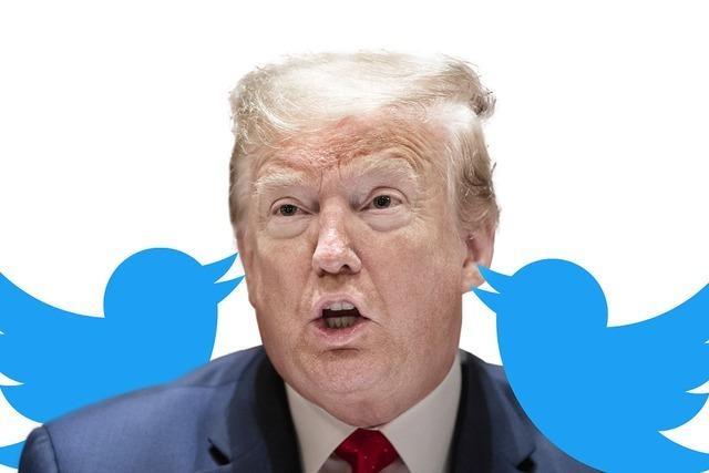Twitter warnt vor Trump