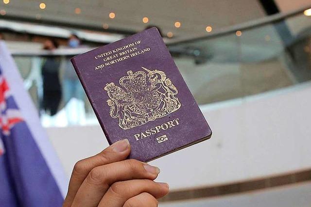 London droht im Streit um Hongkong mit Einbürgerung von Ex-Untertanen