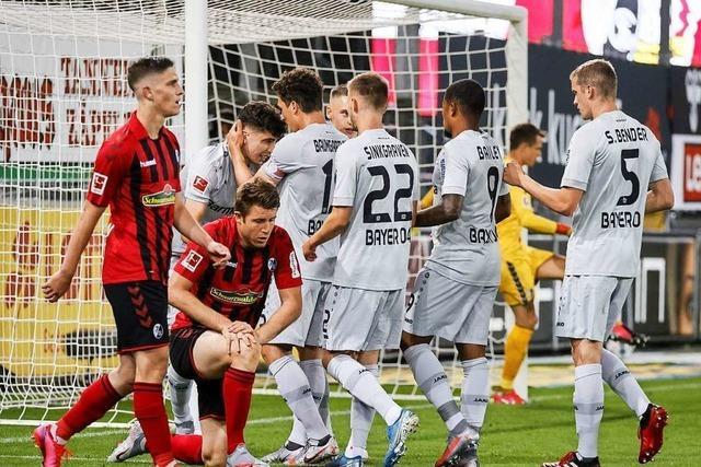 SC Freiburg verliert chancenarmes Spiel gegen Leverkusen mit 0:1