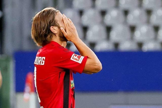 Lucas Höler und Nils Petersen bleiben gegen Leverkusen zu harmlos