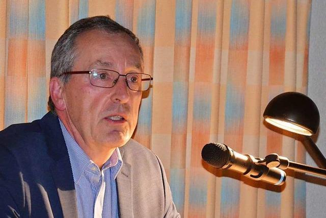 Christoph Huber will nun doch Bürgermeister von Weil am Rhein bleiben