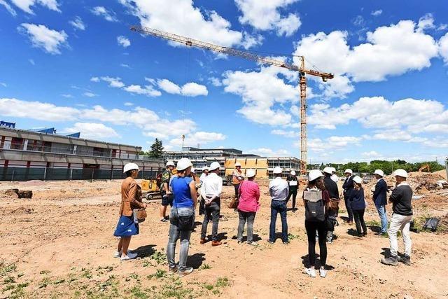 Bauprojekt der Freiburger Staudinger Schule geht voran