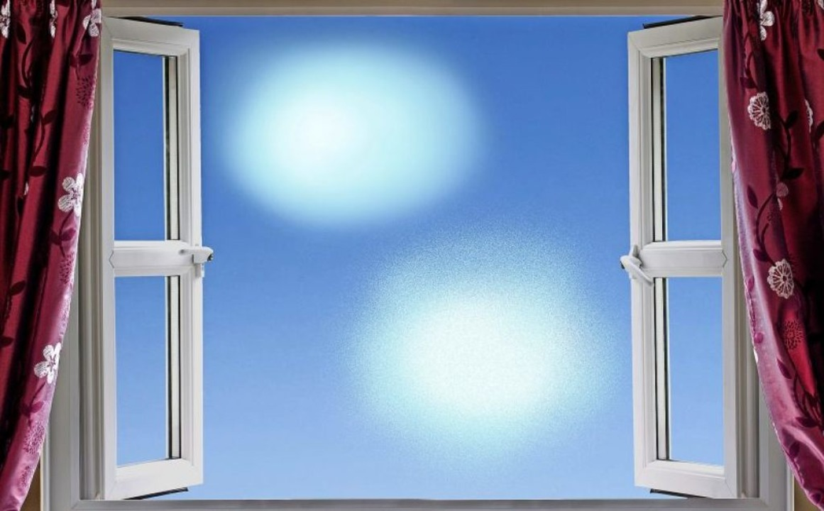 Ein gutes Motto für alle, die drinnen sind: Fenster auf!    Foto: mreco  (stock.adobe.com)
