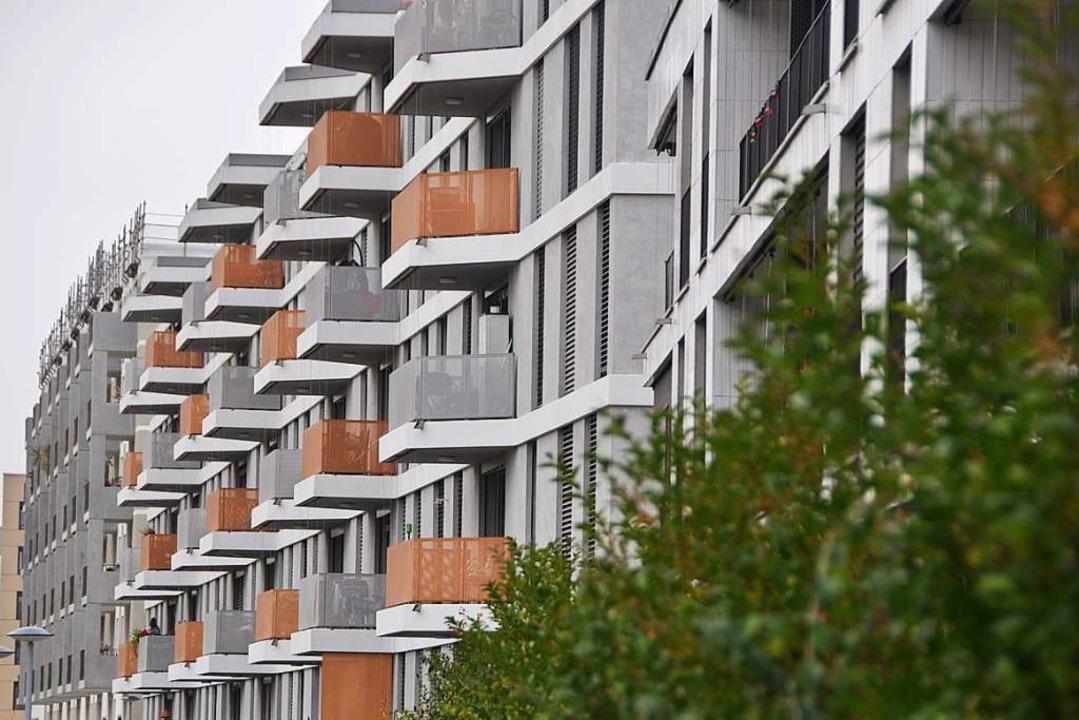 Neuer Wohnraum entstand zuletzt in der...ennoch fehlt Basel günstiger Wohnraum.  | Foto: Daniel Gramespacher
