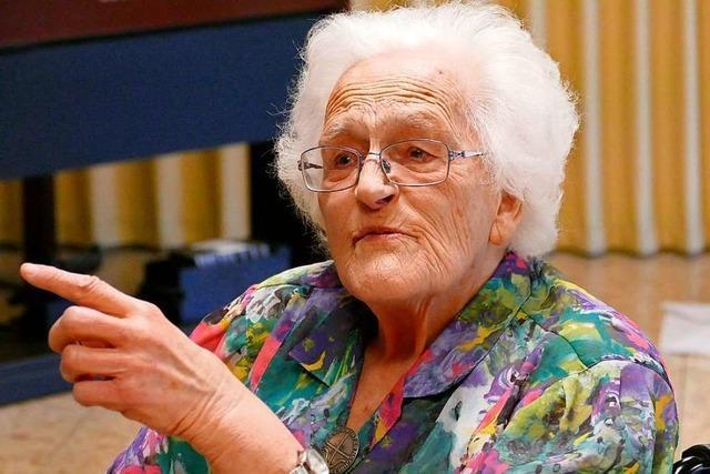 Erste Waldkircher Pflegeheimleiterin wird 100: in