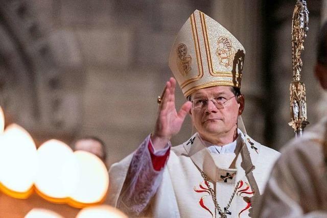 Erzbischof Burger macht sich für Solidarität und gegen Verschwörungstheorien stark