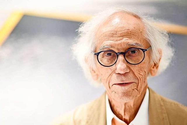Verpackungskünstler Christo mit 84 Jahren gestorben