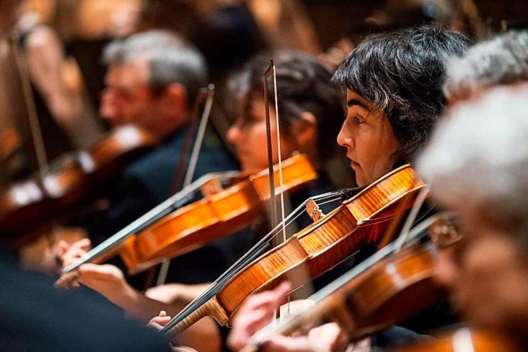 So eng  saß das Streicherquartett des ...beim Streaming-Konzert nicht zusammen.  | Foto: Igor Studios