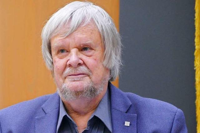 Grünen-Fraktionschef Heiner Lohmann ist gegen Taubenhilfe