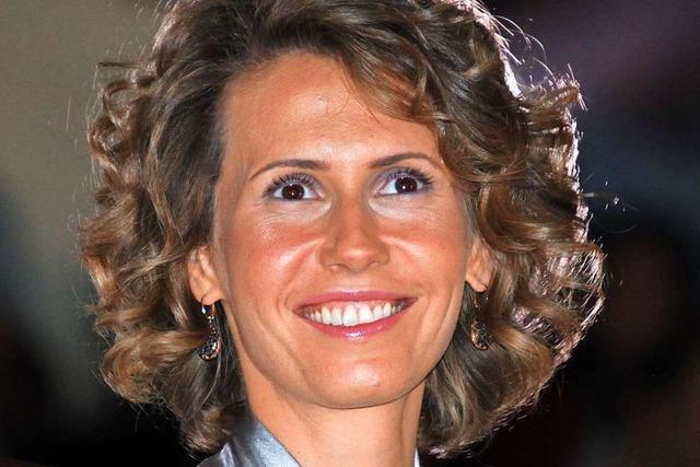 Asma al-Assad soll sich um die korruptionszerfressene syrische Wirtschaft kümmern