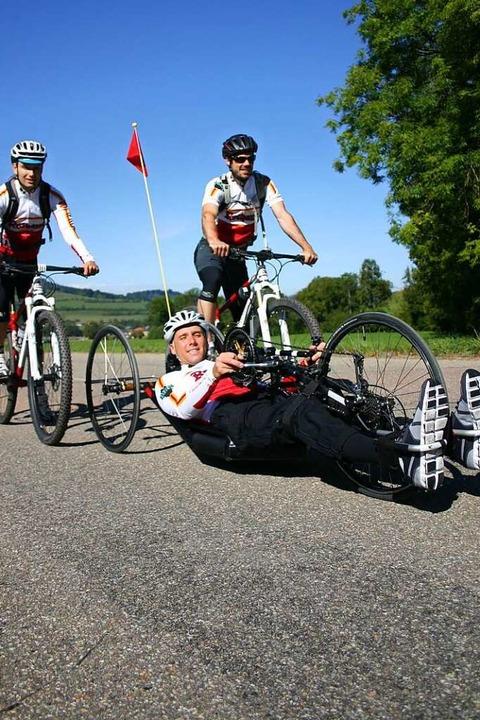 Benjamin Rudiger war bis zu seinem Stu...rnational erfolgreicher Mountainbiker.  | Foto: privat
