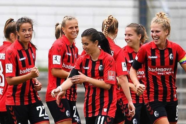 Auftakt nach Maß für die Fußballerinnen des SC Freiburg beim Re-Start ihrer Liga