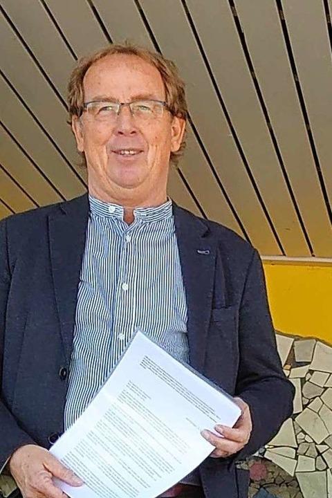 Bekam den offenen Brief: Rektor Harald Höfler von der Landeck-Schule  | Foto: Privat