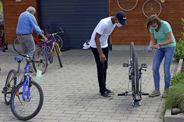 Die Fahrradwerkstatt für Geflüchtete öffnet wieder
