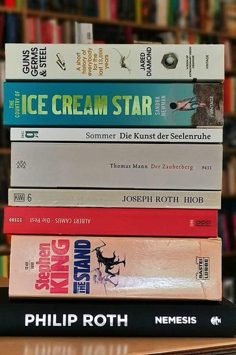Bücher können Trost bieten. Und Ablenkung. Und Erklärung. Oder alles zugleich.    Foto: Patrik Müller