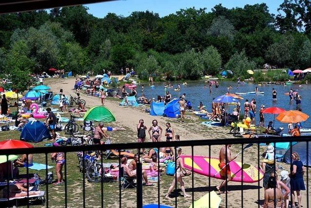 An den Freiburger Freizeit-Hotspots scheint die Corona-Pandemie wie weggefegt
