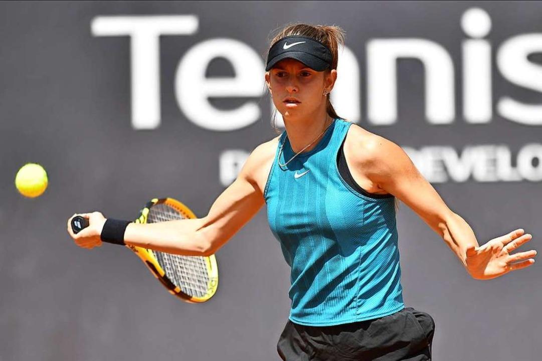 Selbstbewusst: Alexandra Vecic will be...innt, ihre Vorrundengruppe überstehen.    Foto: Achim Keller