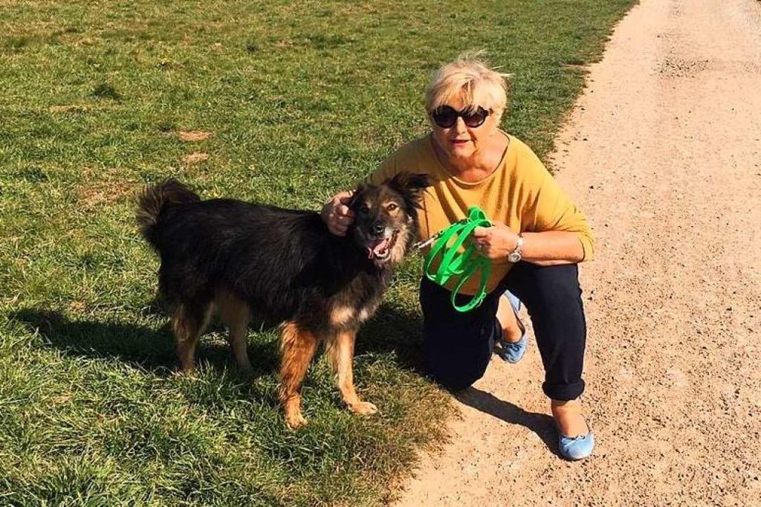 Birgit Streich gehört zu den Helfern, ...im trotz Corona tolle Dienste leisten.  | Foto: privat