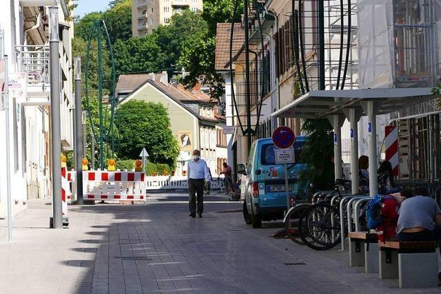 Die Umgestaltung der Lörracher Kirchstraße ist abgeschlossen