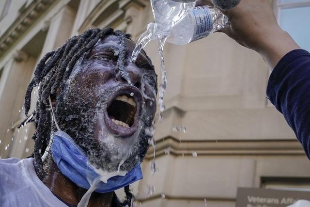 Proteste gegen Polizeigewalt in den USA reißen nicht ab