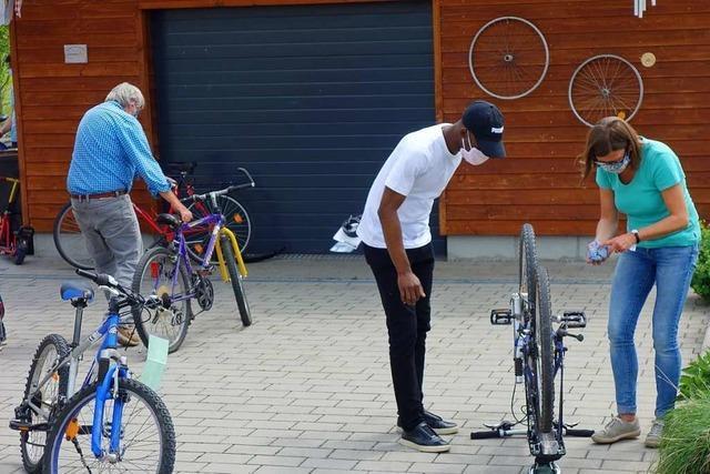Die Fahrradwerkstatt für Geflüchtete in Rheinfelden öffnet wieder