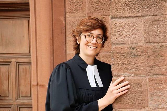 Pfarrerin Laura Artes freut sich über Zuspruch – On- und Offline