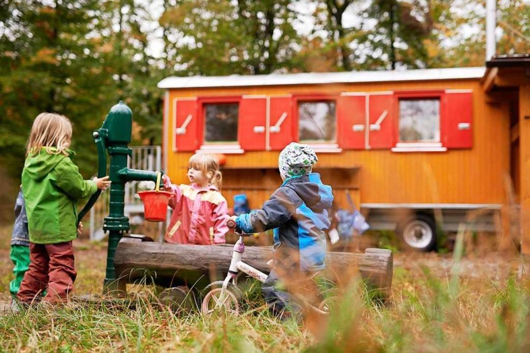 Im Herbst öffnet der Bauernhofkindergarten.  | Foto: Franziska Ambach