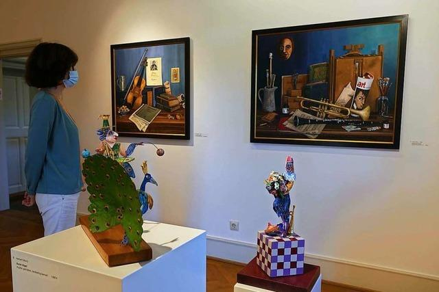 Im Haus Salmegg zeigen Künstler, die älter als 75 sind, ihre Werke