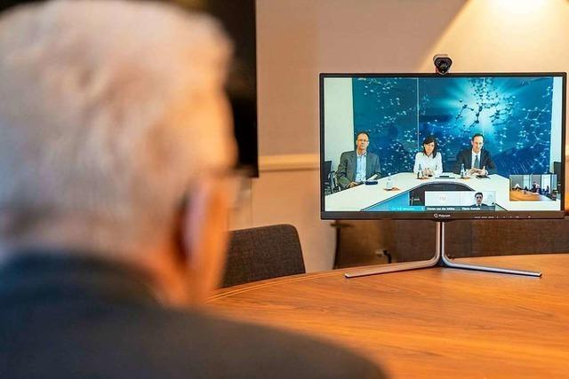 Gemeinderat Lörrach rüstet sich für Videokonferenzen
