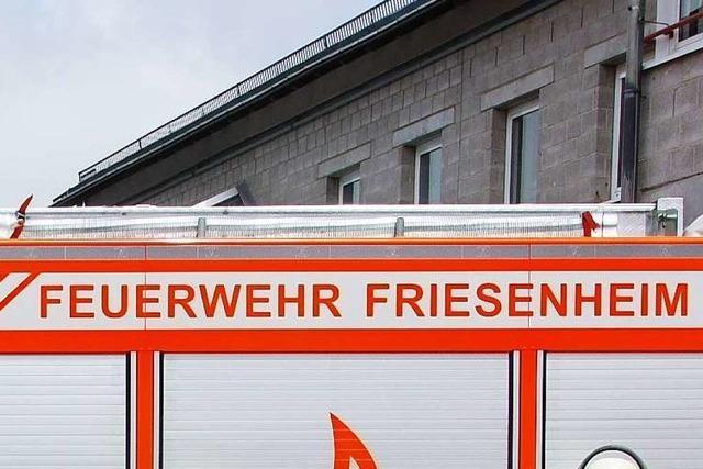 Küchenbrand in Friesenheim