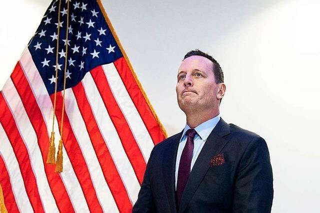 Spekulationen über Wahlkampfhilfe von Ex-US-Botschafter Grenell für Trump