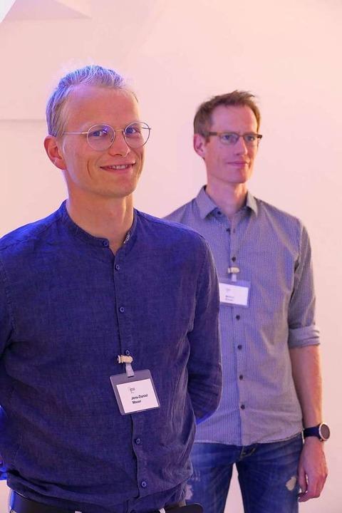 Jens Daniel Maurer und Markus Schulz  | Foto: Verena Pichler