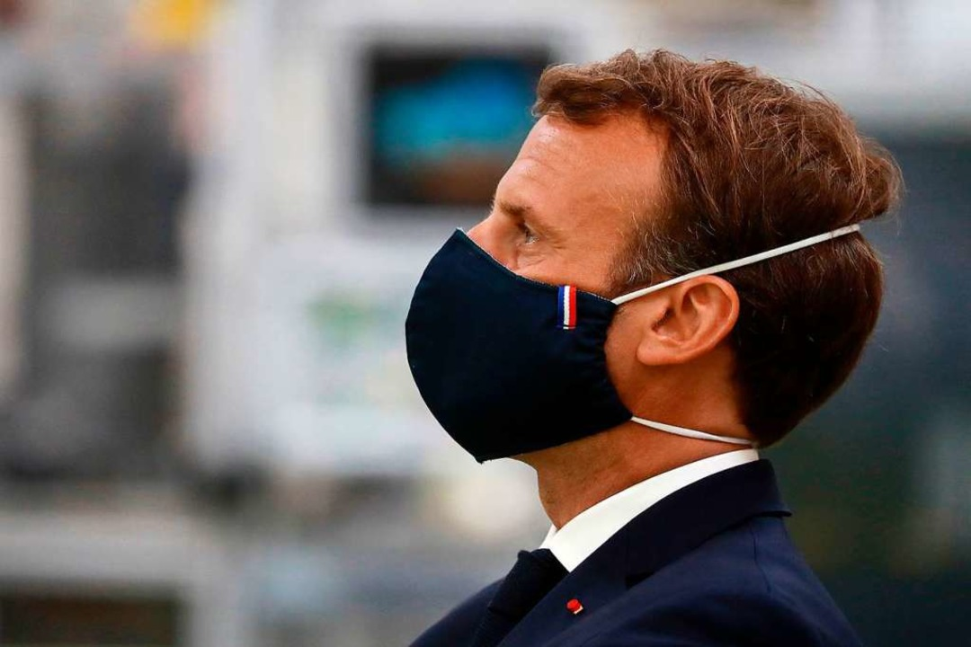 Emmanuel Macron will dem Virus trotzen  | Foto: LUDOVIC MARIN (AFP)