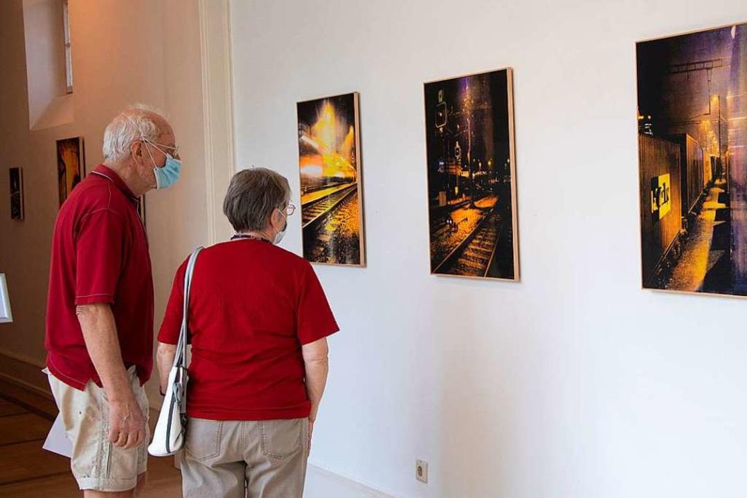 Mehr als 50 Besucher kamen am ersten Wochenende ins Museum.    Foto: Volker Münch