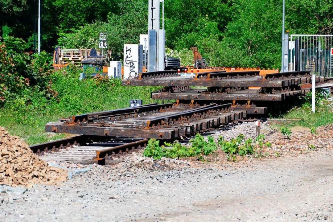 Diese Gleise haben ausgedient.  | Foto: Sylvia Sredniawa