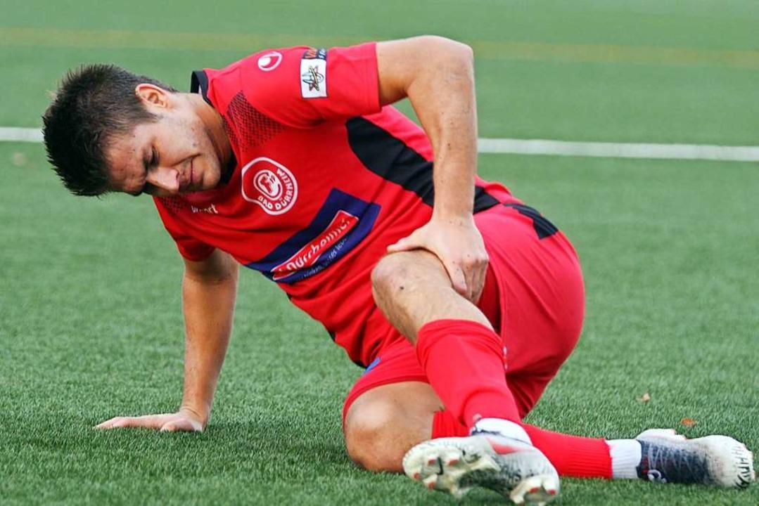 In Sime Fantov bekommt der FC Neustadt...hrenen Spieler mit viel Offensivdrang.  | Foto: Dieter Reinhardt