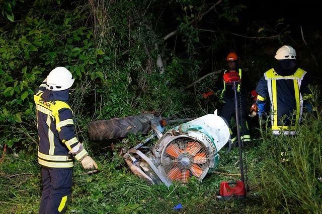 Winzer nach Unfall in Reben bei Vögisheim lebensgefährlich verletzt