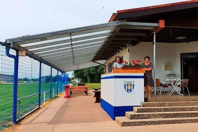 Sportclub Mengen nutzt die Corona-Zwangspause zur Auffrischung der Vereinsanlagen