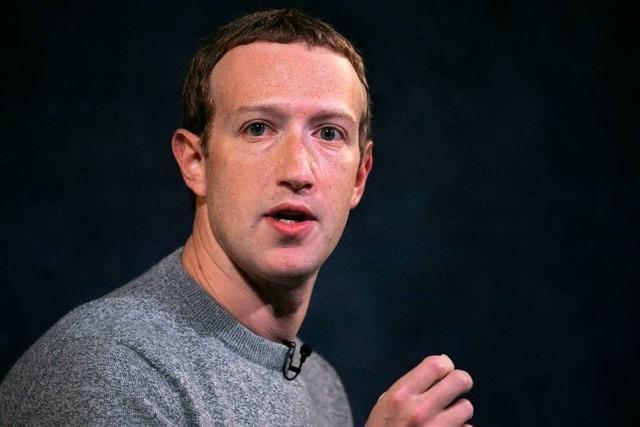 Zuckerberg verteidigt Umgang mit Trump-Äußerungen vor Mitarbeitern