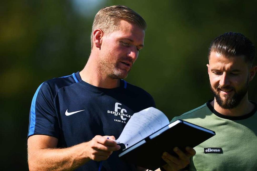 An die Verbandsliga-Aufstiege mit dem ...ierre-Christoph Göppert) gerne zurück.  | Foto: Patrick Seeger