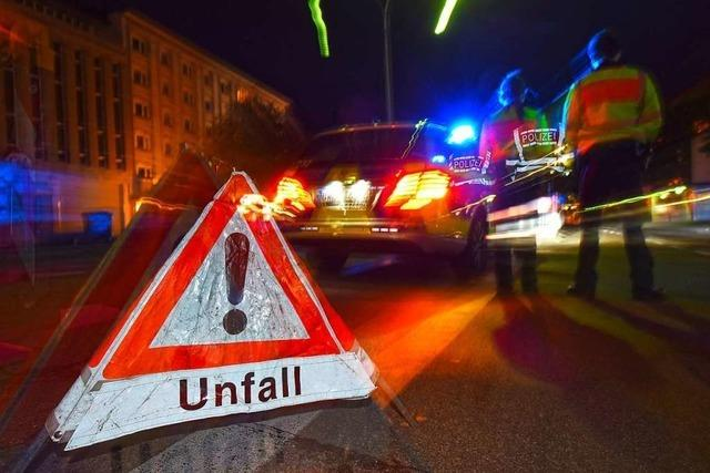 Sperrung der A5 bei Mahlberg nach Unfall wieder aufgehoben
